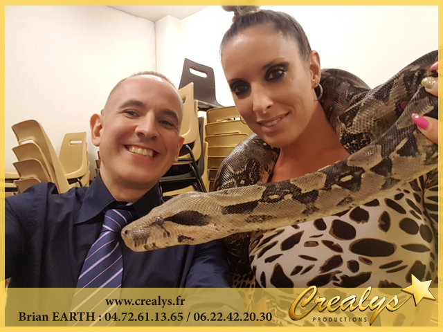 animal serpent en location